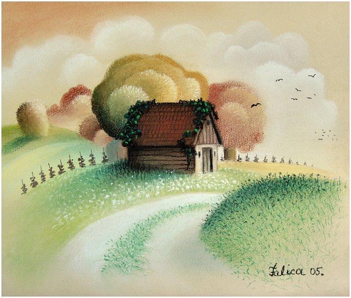 Vineyard cottage II